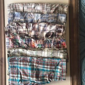 GAP Plaid/Patchwork Shorts bundle